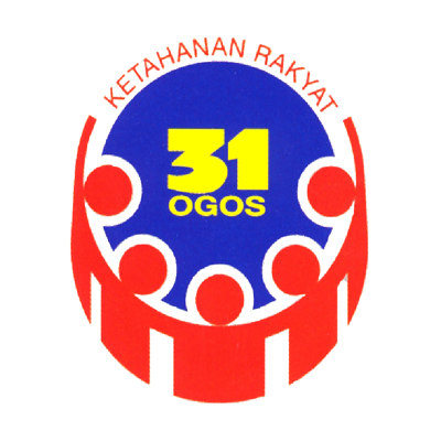 Logo Merdeka 1976-KETAHANAN RAKYAT