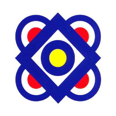 Merdeka logo 1987-SETIA BERSATU BERUSAHA MAJU