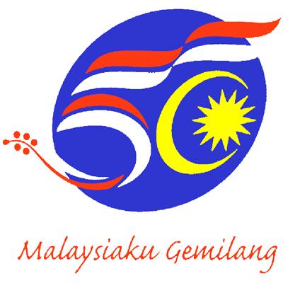 Merdeka logo 2007-MALAYSIAKU GEMILANG