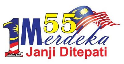 Merdeka logo 2012-55 tahun Merdeka-Janji ditepati